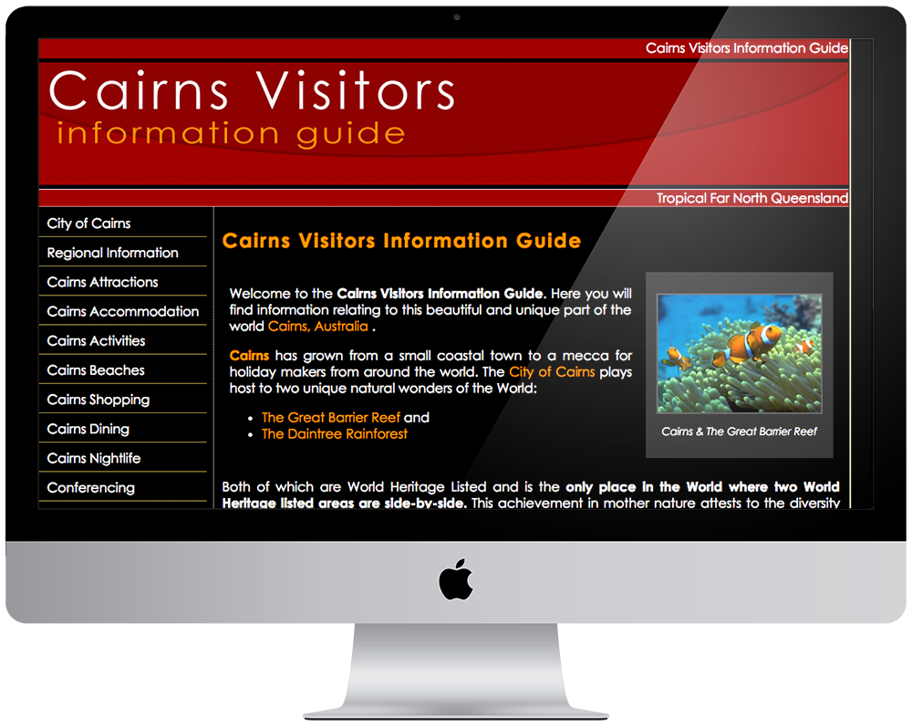 Cairns Visitors Information Guide