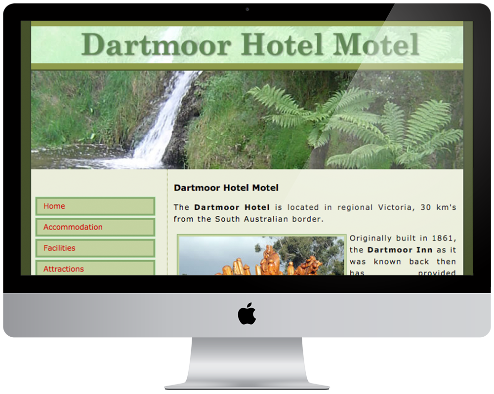 Dartmoor Hotel - Dartmoor Accomodation