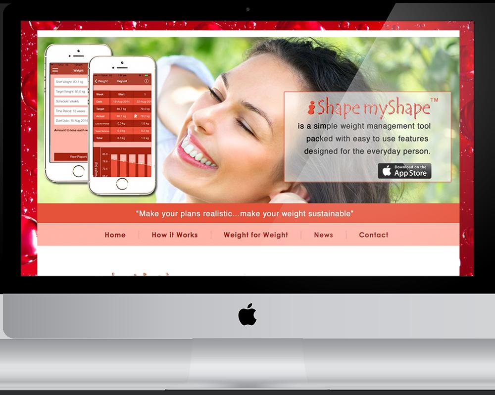 iShapemyShape - Weight Management APP