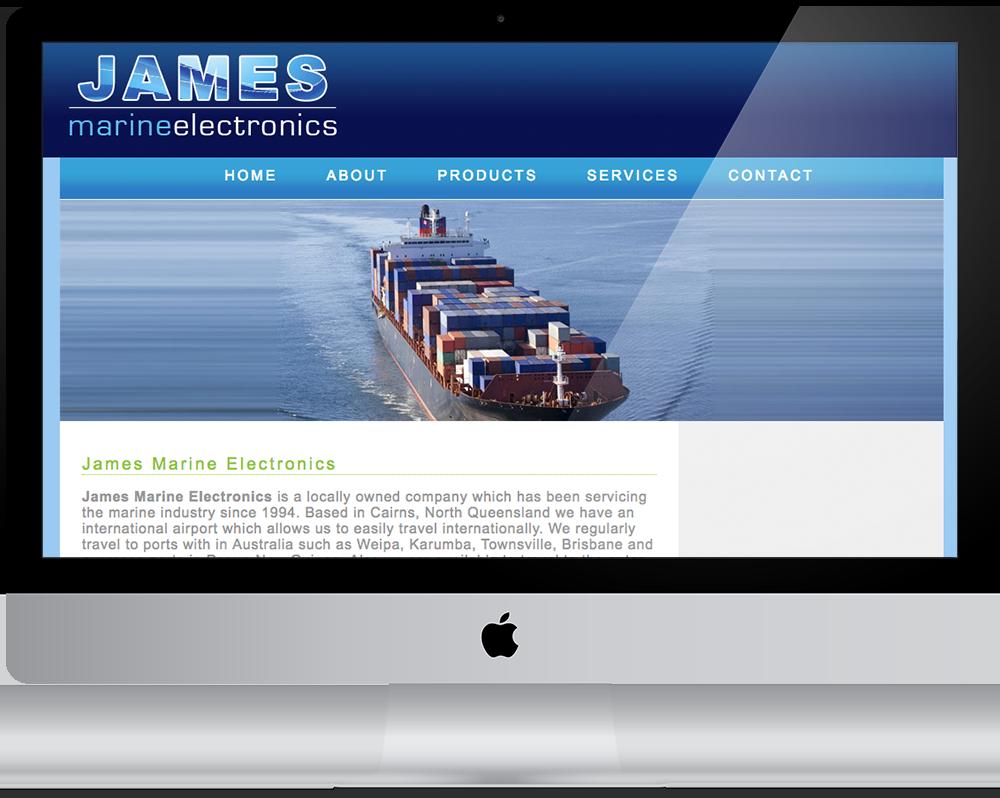 James Marine Electronics - Cairns Marine Electronics