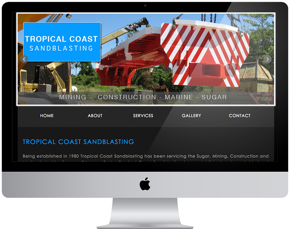 Tropical Coast Sandblasting